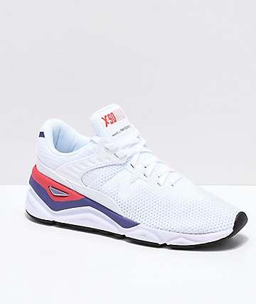 New Balance Lifestyle X90 Munsell zapatos blancos e índigo