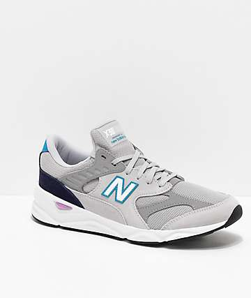 New Balance Lifestyle X90 Reconstructed Away Grey, White, Blue & Purple Shoes