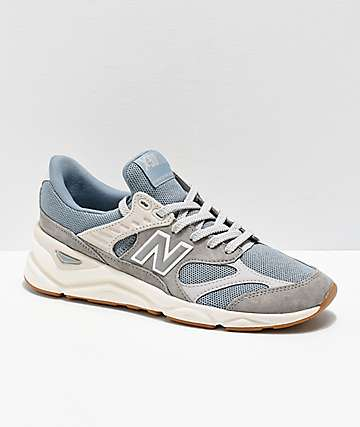 New Balance Lifestyle X90 Reconstructed Cyclone Blue & Marble Grey Shoes