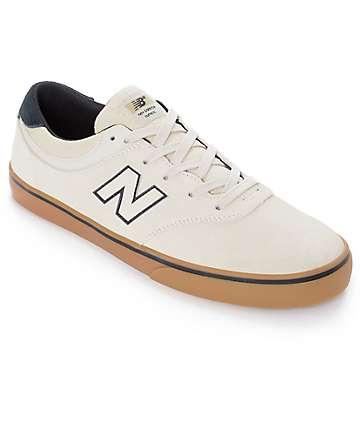 New Balance Numeric 254 Quincy zapatos en blanco y goma