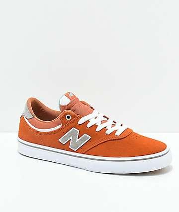 New Balance Numeric 255 Apricot zapatos de skate de color naranja