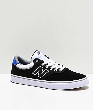 New Balance Numeric 255 Black, Royal Blue & White Skate Shoes