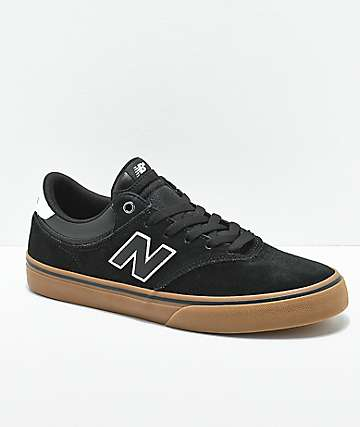 New Balance Numeric 255 Black & Gum Skate Shoes