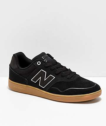43c4aaa33a0 New Balance Numeric 288 Black   Gum Skate Shoes