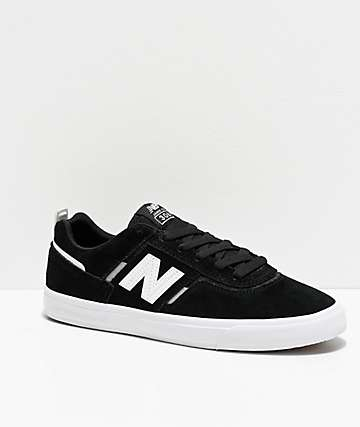 New Balance Numeric 306 Foy Black & White Skate Shoes