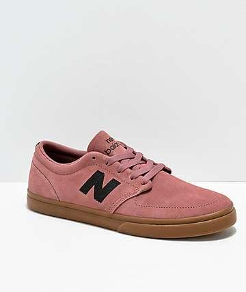New Balance Numeric 345 zapatos de skate en rosa y goma