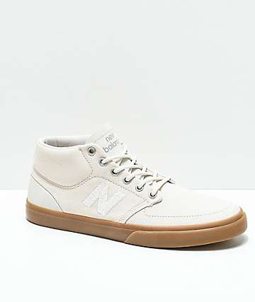 New Balance Numeric 346 Tan   Gum Skate Shoes 0fc60b19c