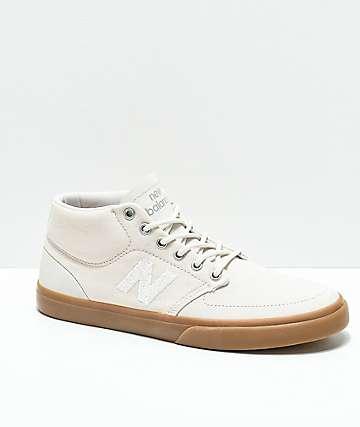 New Balance Numeric 346 zapatos de skate en beige y goma