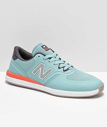 New Balance Numeric 420 Emerald Green & Grey Skate Shoes