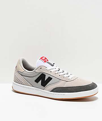 New Balance Numeric 440 Clay Grey, Black and White Skate Shoes