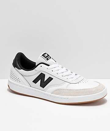 New Balance Numeric 440 zapatos de skate en negro y blanco