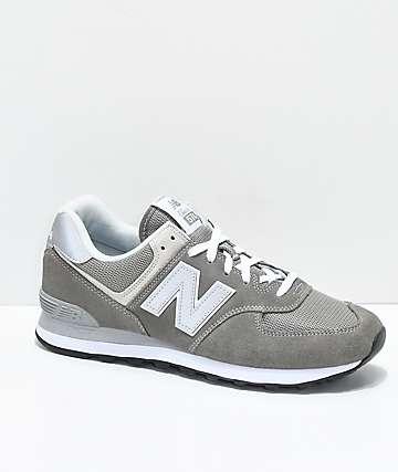 New Balance Numeric 574 Outdoor zapatos en gris y blanco