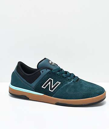 New Balance Numeric PJ 533 V2 Forest Green, Black & Gum Skate Shoes