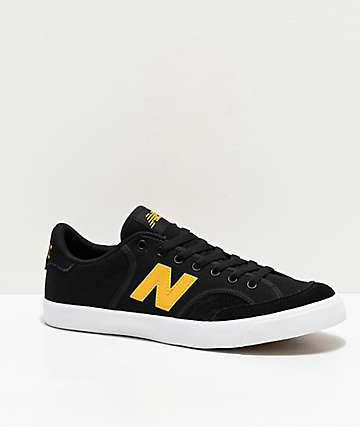 New Balance Numerics 212 California Black & Yellow Skate Shoes