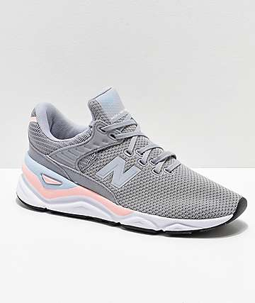 New Balance X-90 Arctic Sky & Himalayan Pink Shoes