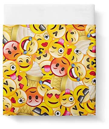 Night Shift Emoji conjunto de sabanas queen
