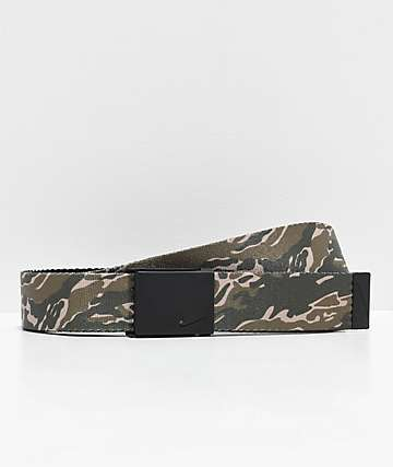 Nike Camo Reversible Web Belt