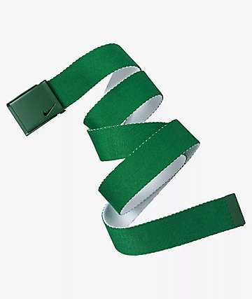 Nike Essential Pine Green Web Belt