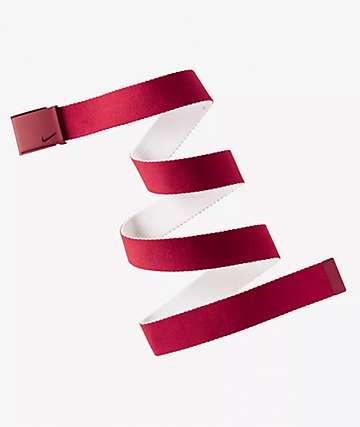 Nike Essential Red Web Belt