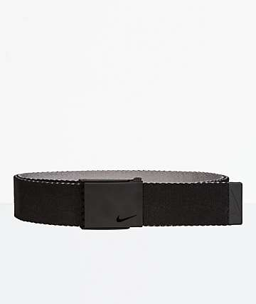 Nike Essentials Black Reverse Web Belt