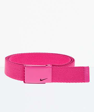 Nike Essentials Hot Pink Web Belt