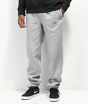 Nike Icon Tech pantalones de polar técnico gris