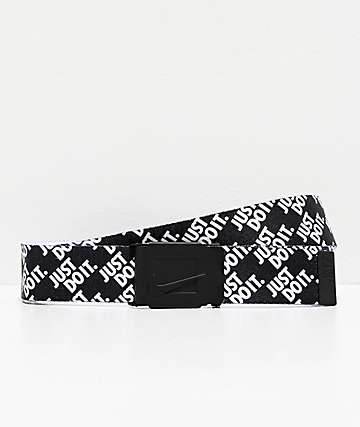Nike Just Do It Stacked Web Belt