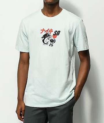 Nike SB BBQ Fish Fry camiseta de color menta pálida