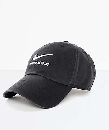 b1a04111b1001 Nike SB Black Dad Hat