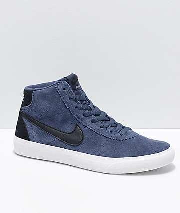 Nike SB Bruin Hi Thunder Blue & Summit White Skate Shoes