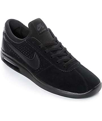 Nike SB Bruin Vapor Air Max All Black Skate Shoes