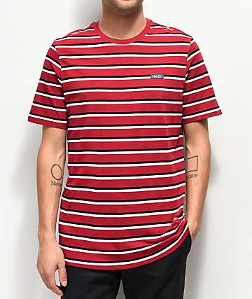 Nike SB CTN Red Striped T-Shirt