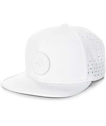 Nike SB Dri-Fit Arobill White Snapback Hat