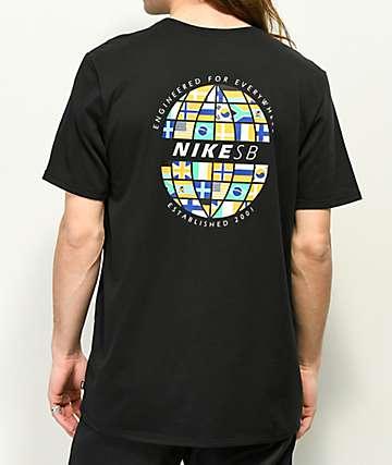 Nike SB Dri Fit Global Black T-Shirt