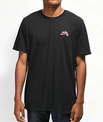 Nike SB Dri-Fit Script camiseta negra