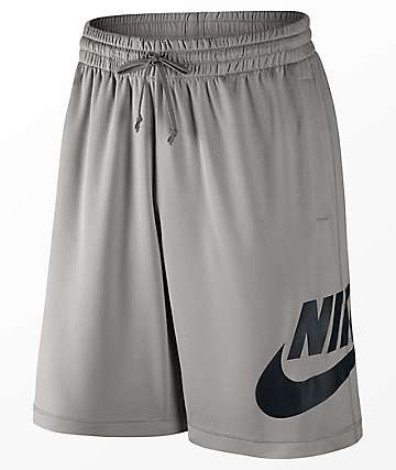 Nike SB Dri-Fit Sunday Grey & Black Shorts