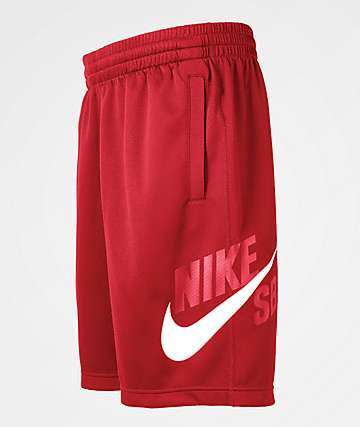 Nike SB Dri-Fit Sunday Red Shorts