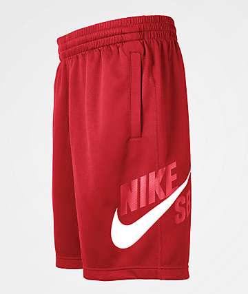 Nike SB Dri-Fit Sunday Red Shorts