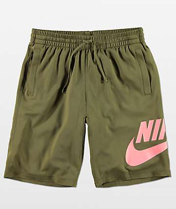 Nike SB Dri-Fit Sunday shorts en verde oliva
