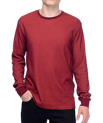 Nike SB Dry Thermal Red Long Sleeve Shirt