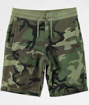 Nike SB Everett shorts de punto de camuflaje