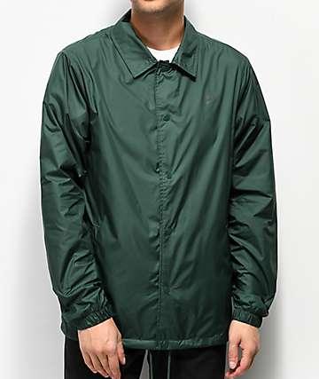 Nike SB Evergreen chaqueta entrenador verde