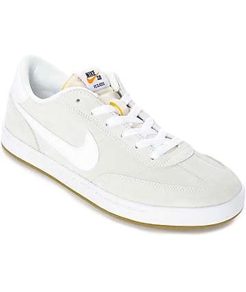 Nike SB FC Classic Summit White Skate Shoes