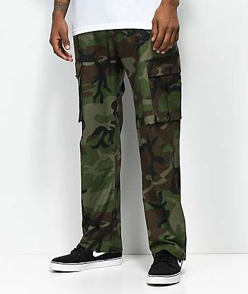 Nike SB FTM Camo Cargo Pants