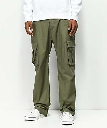 Nike SB FTM pantalones de carga oliva