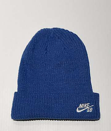 Nike SB Fisherman Blue Beanie