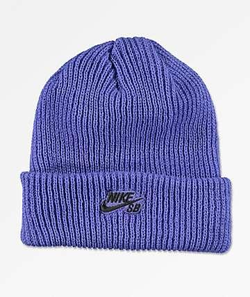 Nike SB Fisherman Rush Violet Beanie