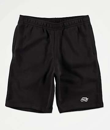 Nike SB Fleece Black Shorts