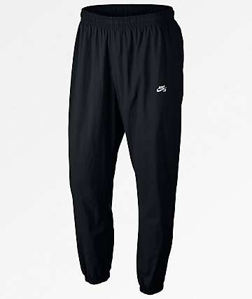 Nike SB Flex Black Track Pants