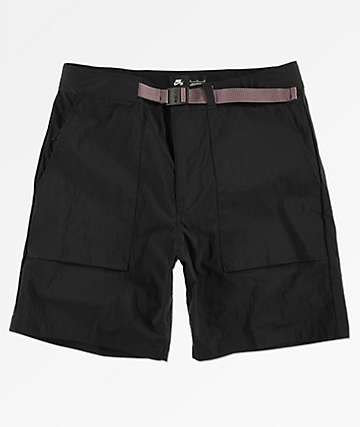 Nike SB Flex Everett Black Shorts